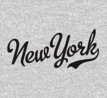 New York Script Black by USAswagg2