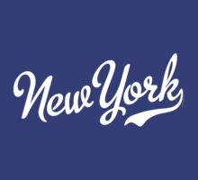 New York Script White by USAswagg2