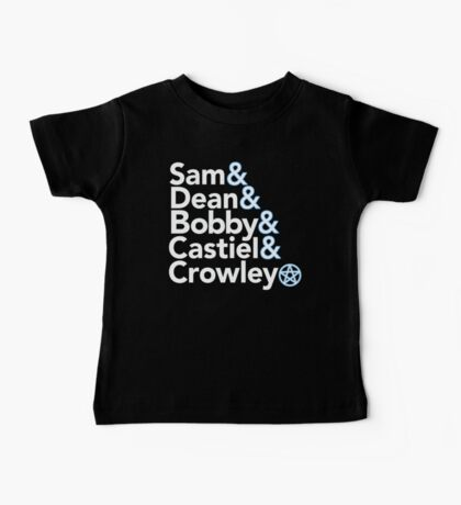 Supernatural Helvetica Baby Tee