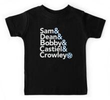 Supernatural Helvetica Kids Tee