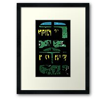 What lies beneath Framed Print