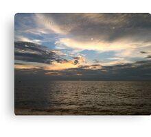 Sunset at Marissa Beach Canvas Print