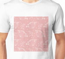 Retro pattern with fennel flowers Unisex T-Shirt