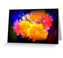 Bright Bouquet -  at Supermarket Greeting Card