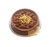 Bowl of Chili  Photographic Print