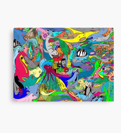 Aquatic life  Canvas Print