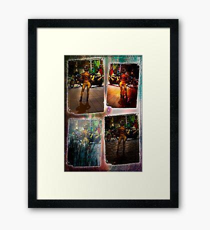Riding Companion Framed Print