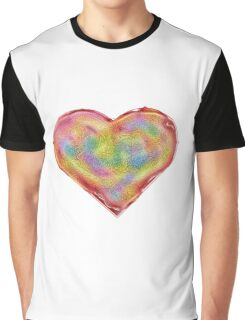 Jelly Heart Graphic T-Shirt