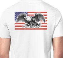 USA, Flag, War Eagle, America, American Unisex T-Shirt