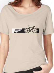 Bike Stripes New Zealand v2 Women's Relaxed Fit T-Shirt