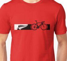 Bike Stripes New Zealand v2 Unisex T-Shirt