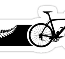 Bike Stripes New Zealand v2 Sticker