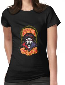 Zoltar Speaks Big - Red Variant Womens Fitted T-Shirt