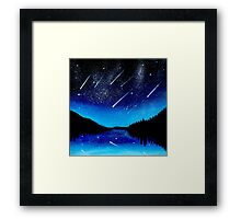 Shooting stars... Framed Print
