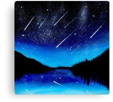 Shooting stars... Canvas Print