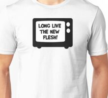 Long Live The Flesh Movie Quotes David Cronenberg Videodrome Snuff Film Cool T-Shirts Unisex T-Shirt