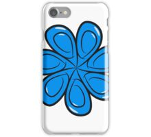 mandala blume kunst natur  iPhone Case/Skin