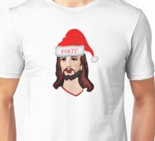 Jesus Christ Merry Christmas Santa Claus Happy Birthday Holidays Happy New Year T-Shirts Unisex T-Shirt