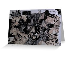 3 Faces  All Legends Greeting Card