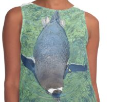 Just keep swimming. Contrast Tank