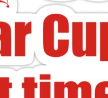 Dear Cupid, Next Time Hit Both Sticker