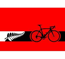 Bike Stripes New Zealand v2 Photographic Print