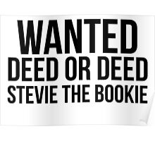 Stevie the Bookie Poster