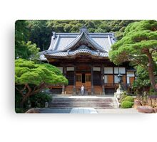 Shusen Temple, Japan Canvas Print