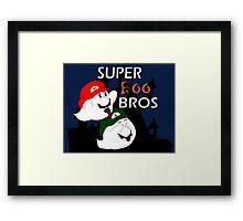 Super Boo Bros Framed Print
