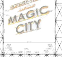 Rotary Trail in the Magic City Birmingham Alabama Sticker