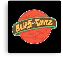 Blips and Chitz Canvas Print