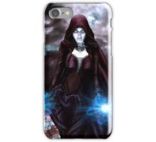 The Sorceress of the Silent Sea iPhone Case/Skin