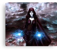 The Sorceress of the Silent Sea Canvas Print