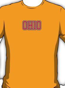 Ohio Jersey Red T-Shirt