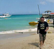 Jamaica Sun, Sea, Sky And Son Steve by lynn carter