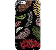 Dark Autumn Pattern iPhone Case/Skin