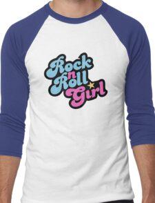 Rock n' Roll Girl Men's Baseball ¾ T-Shirt
