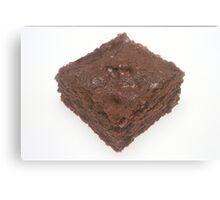 Chocolate Brownie Canvas Print