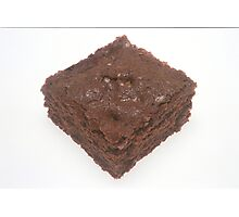 Chocolate Brownie Photographic Print