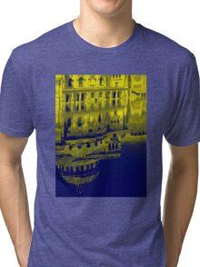 Yellow Reflection Tri-blend T-Shirt