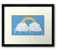 Gay Clouds Framed Print
