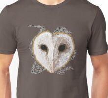 Mystic Barn Owl  Unisex T-Shirt