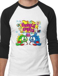 Bubble Bobble Retro Men's Baseball ¾ T-Shirt