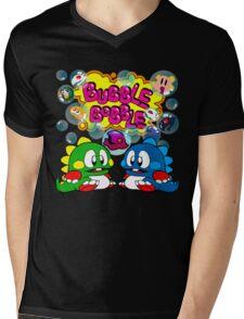 Bubble Bobble Retro Mens V-Neck T-Shirt