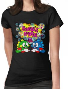 Bubble Bobble Retro Womens Fitted T-Shirt