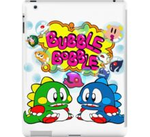 Bubble Bobble Retro iPad Case/Skin