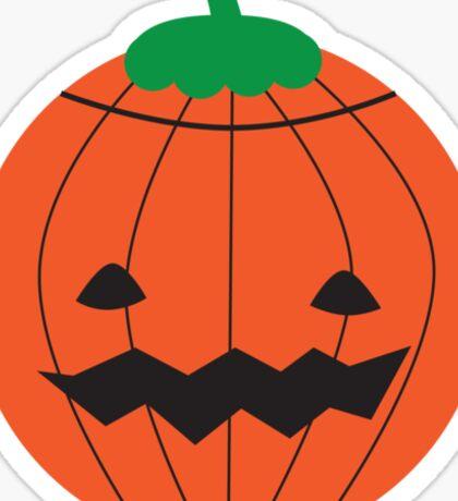 Kawaii Halloween Pumpkin Sticker