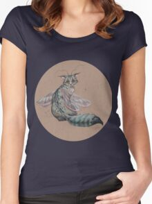 Dragonfly Kitty  Women's Fitted Scoop T-Shirt
