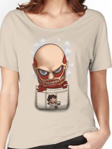 Pocket Attack on Titan Women's Relaxed Fit T-Shirt