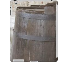 Old barrel for wine iPad Case/Skin